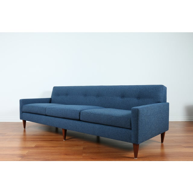 1960's Refinshed And Reupholstered Sofa - Image 4 of 9