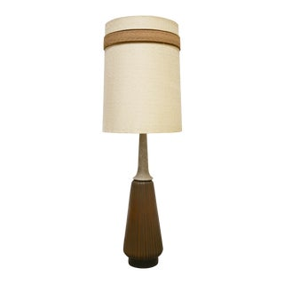 Mid-Century Tall Ceramic Lamp