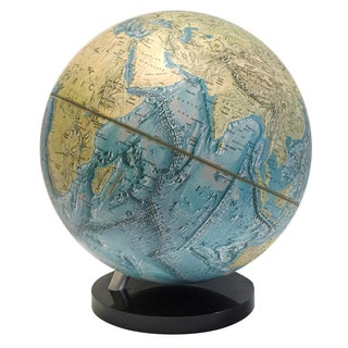 1979 National Geographic Physical Globe
