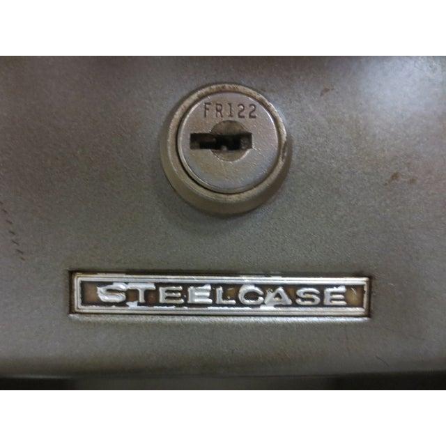 Image of Steelcase Mid-Century Desk