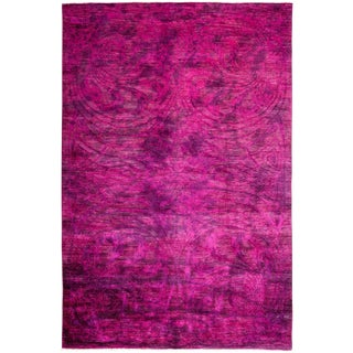 "Vibrance Hand Knotted Area Rug - 6'0"" X 9'0"""