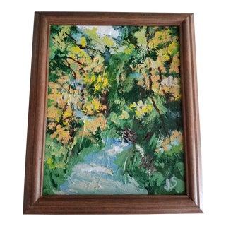 Contemporary Impressionist Landscape Painting