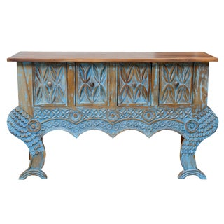 Guatemalan Turquoise Console