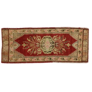 Turkish Yastik Rug - 1′6″ × 3′7″
