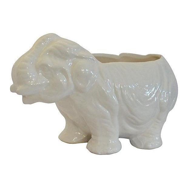 Elephant & Hippo Planters - Image 3 of 7