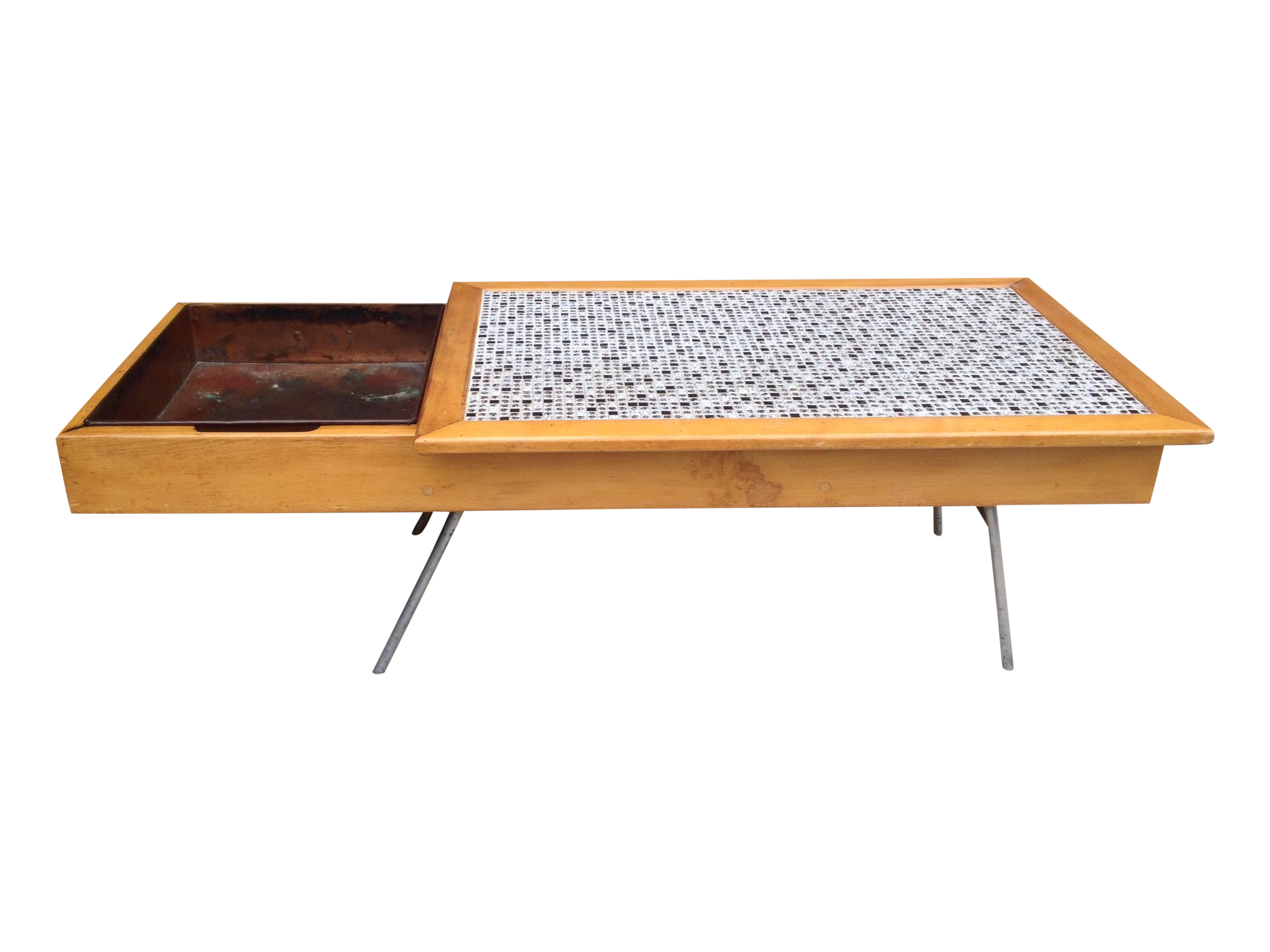 Superior Mid Century George Nelson Coffee Table 4662   Image 1 Of 5