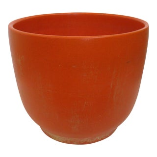 Orange Speckled Gainey Planter