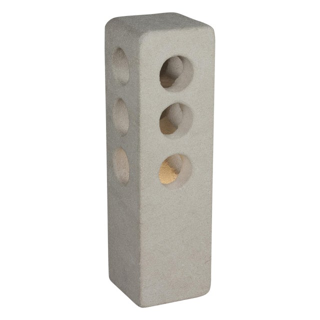 Stone Column Table Lamp by A. Tormos - Image 1 of 9