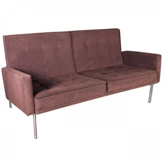 Florence Knoll 2 Seat Sofa With Arms-Parallel Bar