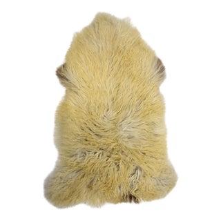 "Handmade Wool Sheepskin Rug - 2'8"" x 4'0"""