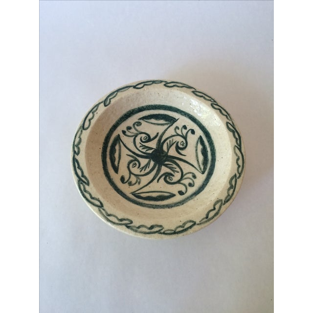 Vintage Footed Ceramic Bowl - Image 2 of 11