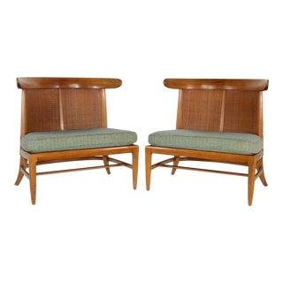 Original Mid-Century Thomlinson Sophisticate Chairs - A Pair