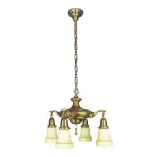 Embossed Original Pan Light Fixture (4-Light)