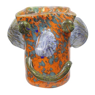 French Art Glass Vase