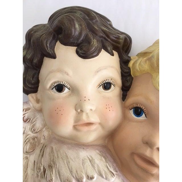 """""""Sweet Faces"""" Cherub Plaque - Image 4 of 6"""