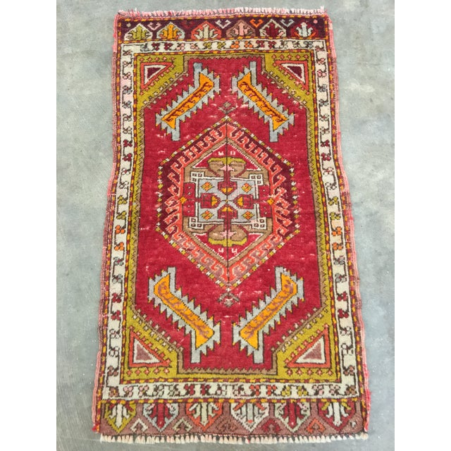 "Anatolian Persian Rug - 1'7"" x 2'11"" - Image 3 of 10"