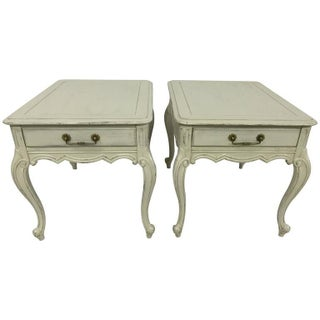 Swedish Style End Tables - Pair