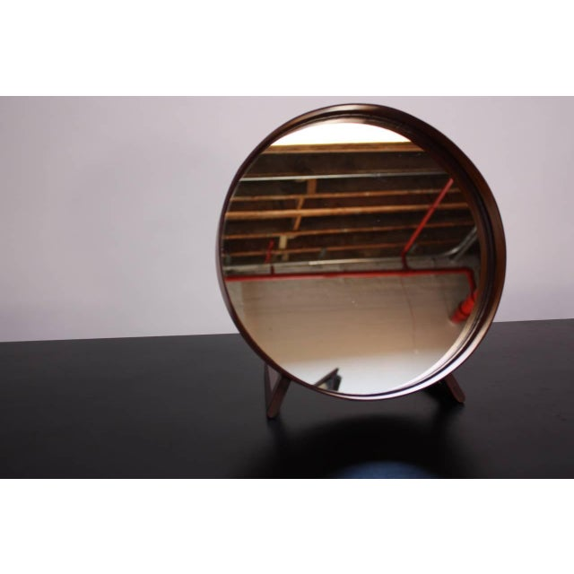 Swedish Rosewood Table Mirror by Uno and Östen Kristiansson for Luxus - Image 9 of 9