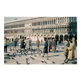Venice Italy St. Mark's Square Vintage 35mm Film Slide Photograph