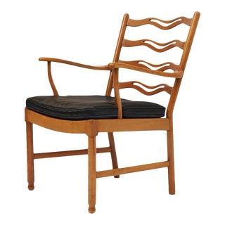 ole wanscher ladderback chair for fritz hansen