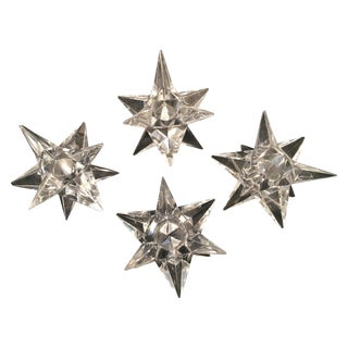 Rosenthal Crystal Star Candle Holders - 4