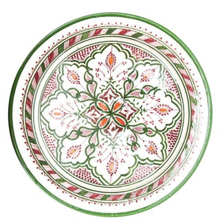 Atlas Red-Violet Green Plate