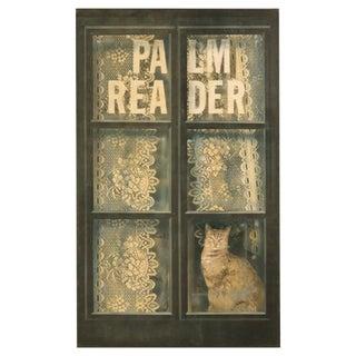 Cat in the Window by Zuleyka Benitez