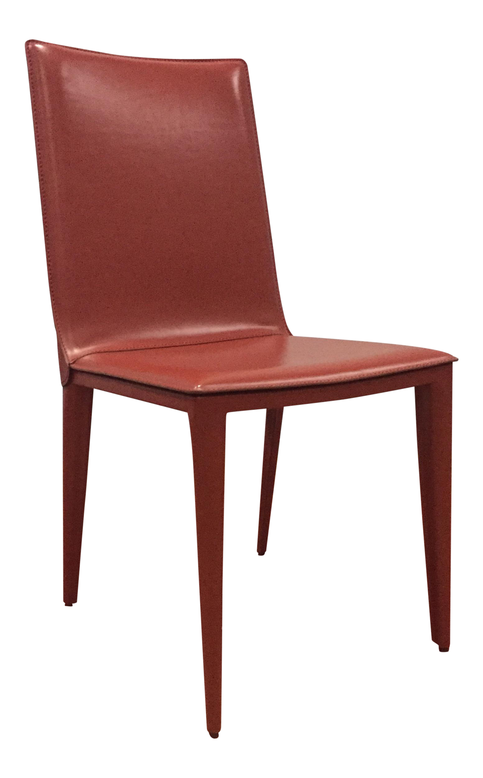 DWR Red Bottega Side Chair   Image 1 Of 6