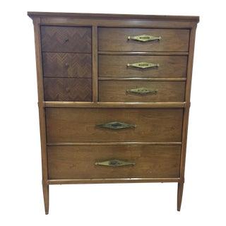 Tomlinson Mid Century Modern Highboy Dresser