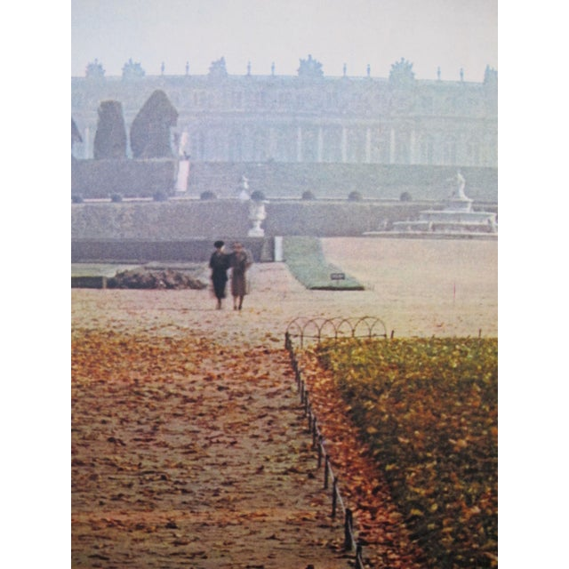1950s French Travel, Autumn Versailles park - Image 2 of 3