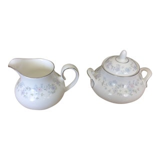Royal Doulton Amersham Pattern Creamer and Sugar Bowl