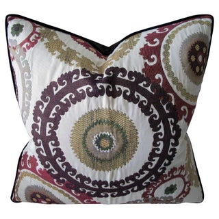 Suzani Gulkurpa Accent Pillow