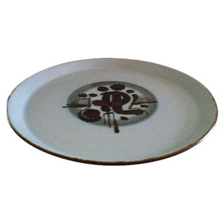 Danish Mid-Century Platter