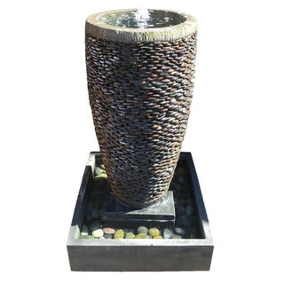 River Pebble Fountain