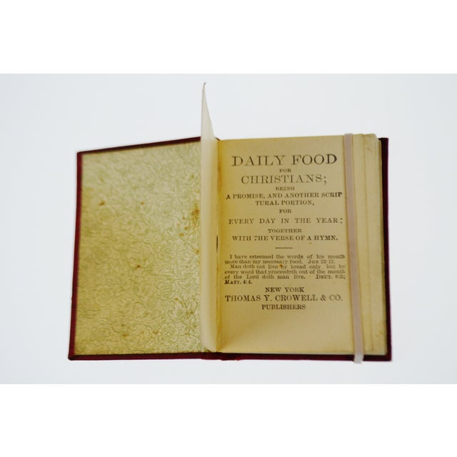 1800's Daily Food for Christians Daily Devotional Book - Image 5 of 10