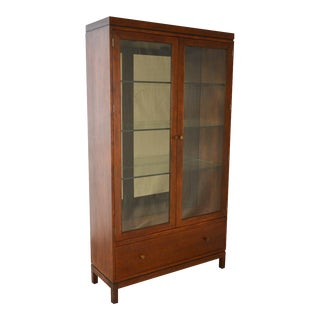 Stickley Metropolitan Collection Display Curio Cabinet w/ Drawers