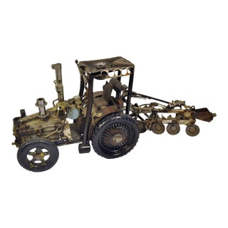 Vintage Antique Model Tractor