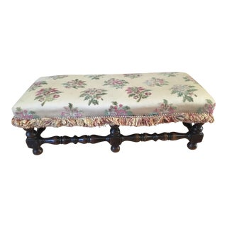 Antique Carriage Footstool