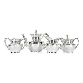 Antique Silver Plate Tea Service
