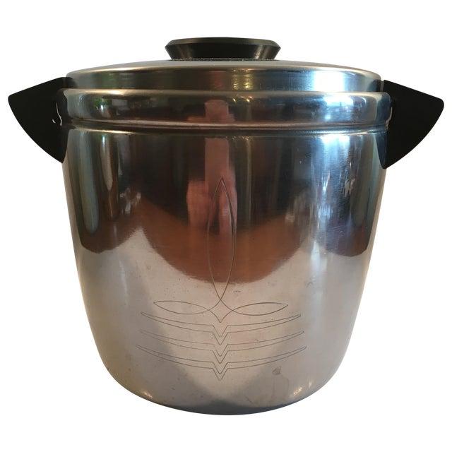 Image of Vintage Landers, Frary & Clark Chrome Ice Bucket