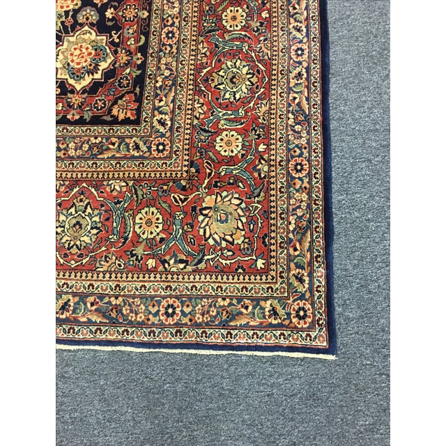 "Vintage Turkish Wool Rug - 8'10"" x 12'5"" - Image 5 of 6"