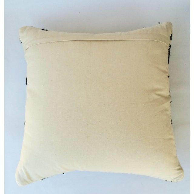 Black & Ivory Wool Pillow - Image 3 of 3