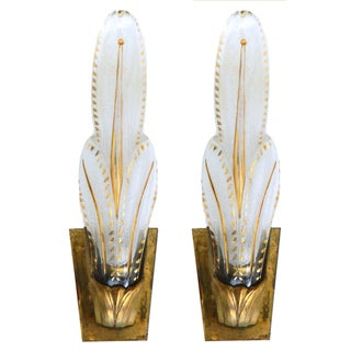 Vintage Murano Sconces - Pair