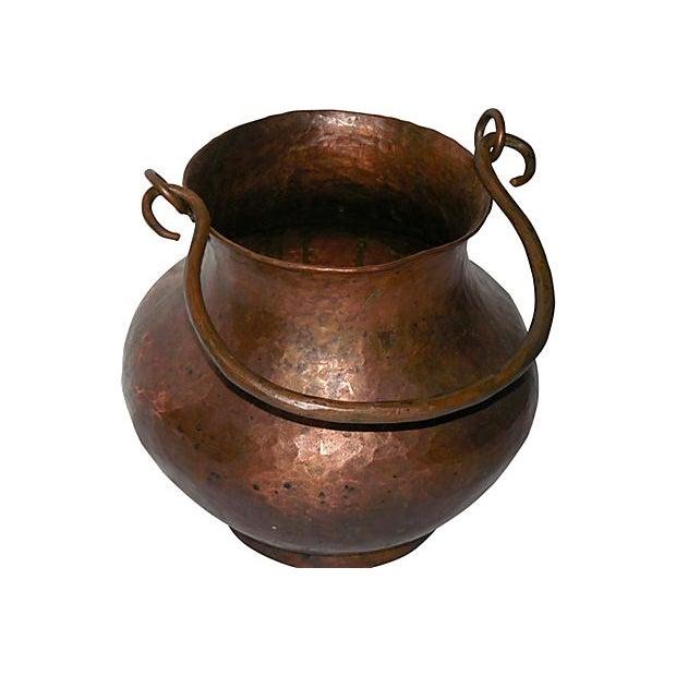 Hand Hammered Copper Vessel - Image 2 of 4