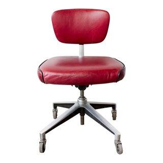 1960s Refinished Cast Aluminium Steno Chair