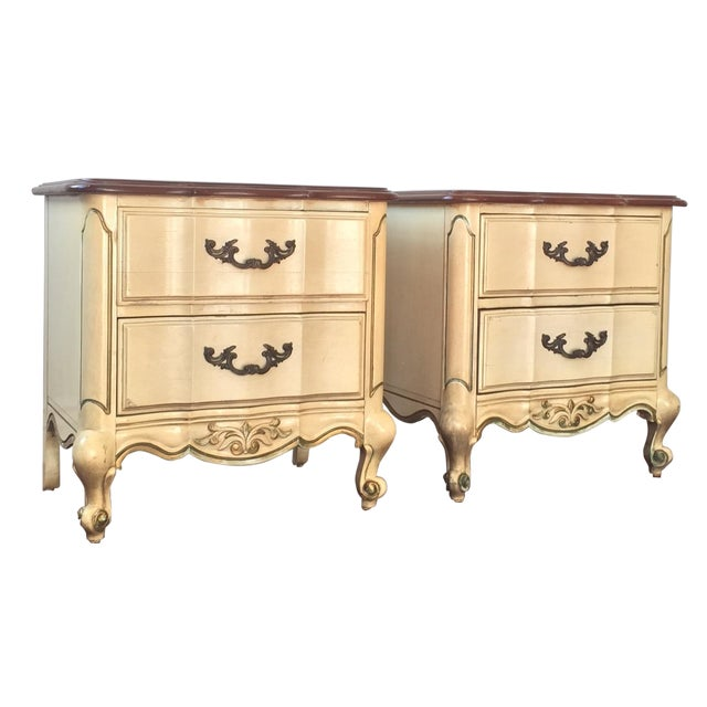 American of Martinsville French Style Nighstands - Image 1 of 9