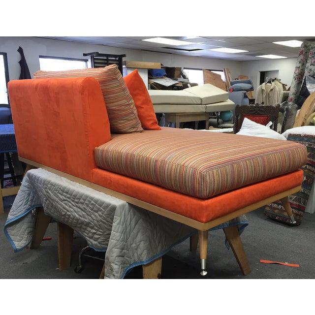 Custom Mid-Century Modern Sofa Lounge - Image 7 of 10
