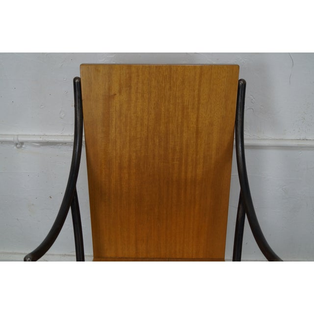 Rob Hare Klismos Essex Dining Chairs - Set of 6 - Image 5 of 10