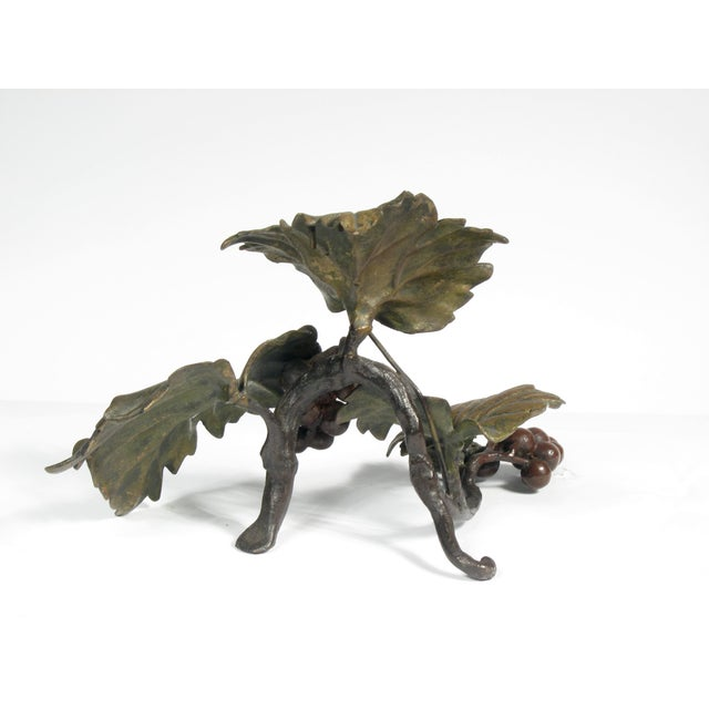 Bronze Grapes Decorative Object - Image 3 of 5