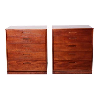 Pair of Cabinets/Nightstands by Edward Wormley for Dunbar